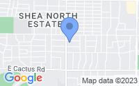 Map of Scottsdale AZ