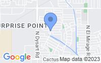 Map of El Mirage AZ