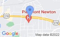 Map of Covington GA