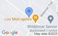 Map of Wildomar CA