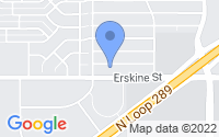 Map of Lubbock TX