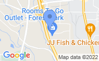 Map of Forest Park GA
