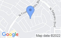Map of Fountain Hills AZ