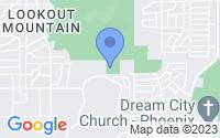 Map of Phoenix AZ