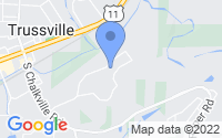 Map of Trussville AL