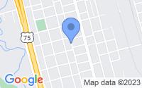 Map of Sherman TX