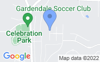 Map of Gardendale AL