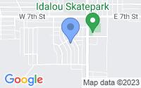 Map of Idalou TX