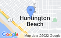 Map of Huntington Beach CA