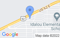 Map of Idalou TX