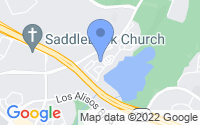Map of Mission Viejo CA