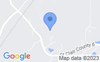 Map of Odenville AL