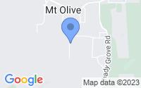 Map of Mount Olive AL