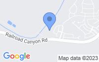 Map of Lake Elsinore CA