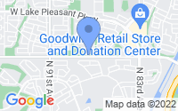 Map of Peoria AZ