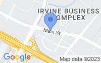 Map of Irvine CA