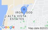 Map of Peoria AZ