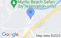 Map of Myrtle Beach SC