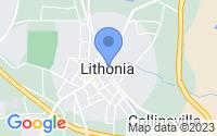 Map of Lithonia GA