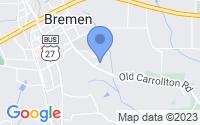 Map of Bremen GA
