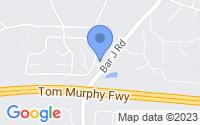 Map of Temple GA