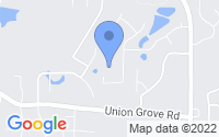 Map of Lithonia GA