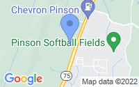 Map of Pinson AL