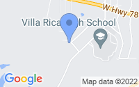 Map of Villa Rica GA