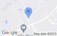 Map of Villa Rica GA
