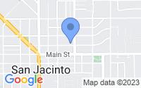 Map of San Jacinto CA