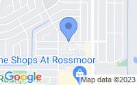 Map of Rossmoor CA