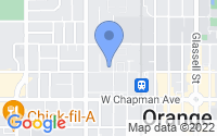 Map of Orange CA