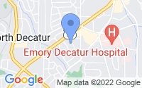 Map of Decatur GA