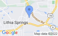 Map of Lithia Springs GA