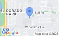 Map of Los Alamitos CA