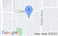 Map of Carson CA