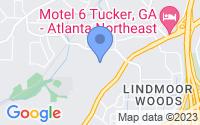 Map of Decatur GA