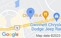 Map of Stone Mountain GA