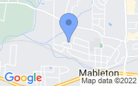 Map of Mableton GA