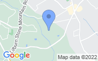 Map of Stone Mountain GA