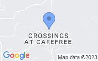 Map of Carefree AZ