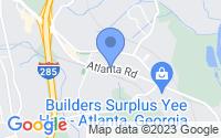 Map of Smyrna GA