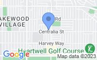 Map of Lakewood CA