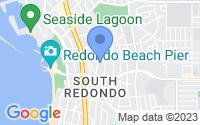 Map of Redondo Beach CA