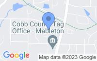 Map of Austell GA