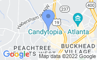 Map of Atlanta GA