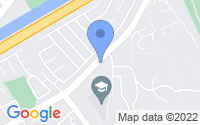 Map of Anaheim CA