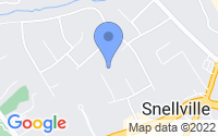 Map of Snellville GA