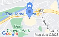 Map of Anaheim CA