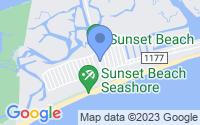 Map of Sunset Beach NC